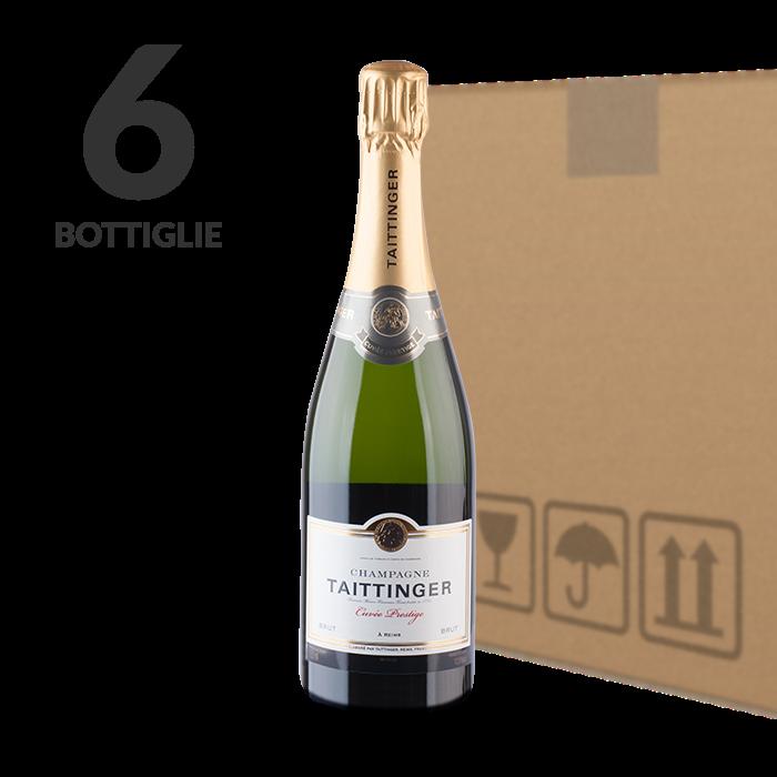 Taittinger champagne cuv e prestige enoteca rossi - Champagne taittinger cuvee prestige ...